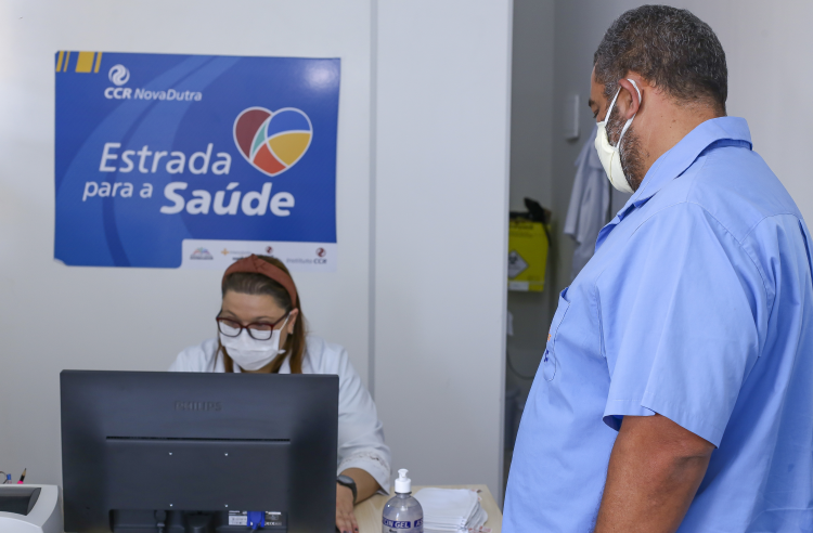 With this new service center, in partnership with Arco-Íris gas station, truck drivers will have free clinical, medical and dental care at their disposal.